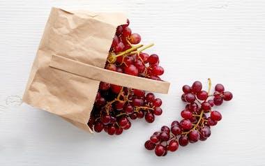 Organic Scarlet Royal Seedless Red Grapes