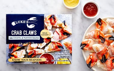 Maine Crab Claws with Cocktail & Mustard Sauce