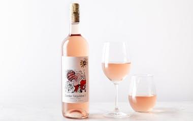 "Organic NoNo Bordeaux Rosé ""Guarder l'Equilibre"""
