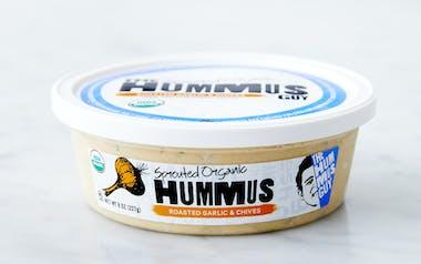 Organic Garlic & Chives Hummus