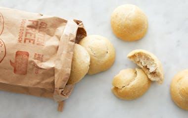 Gluten-Free Sourdough Dinner Rolls