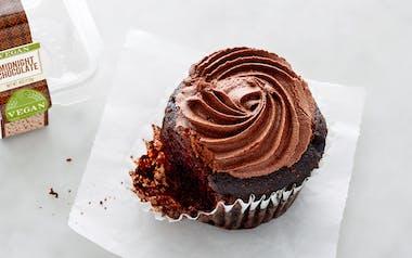 Organic Vegan Midnight Chocolate Cupcake