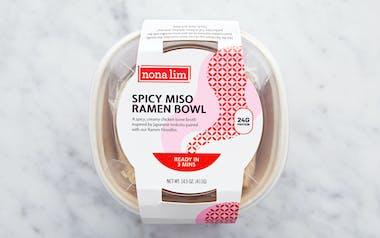 Spicy Chicken Miso Ramen Noodle Bowl