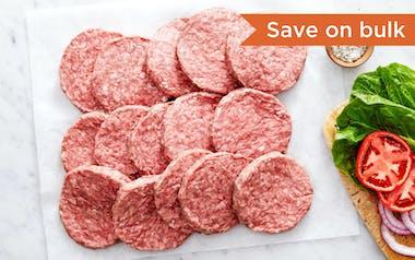 Bulk Beef Burger Patties
