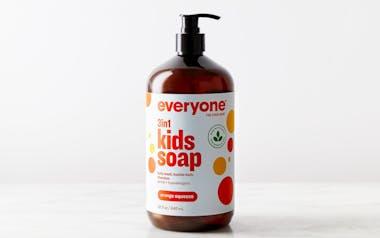 Orange Squeeze Kids 3 in 1 Soap