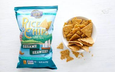 Organic Sesame & Seaweed Rice Chips