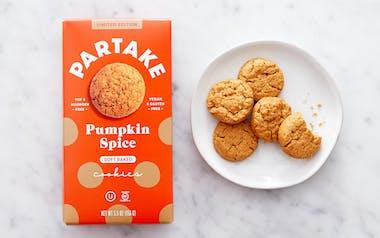 Vegan & Gluten-Free Pumpkin Spice Cookies