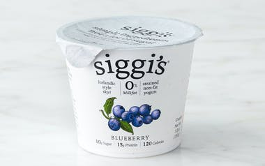Nonfat Blueberry Icelandic Yogurt