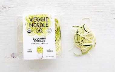 Organic Zucchini Spirals