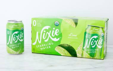 Lime Organic Sparkling Water