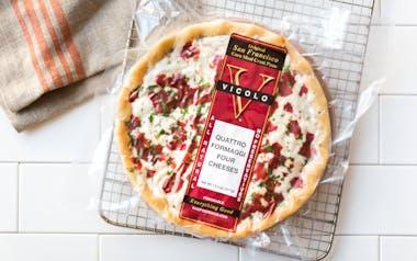 Quattro Formaggi Cornmeal Crust Pizza