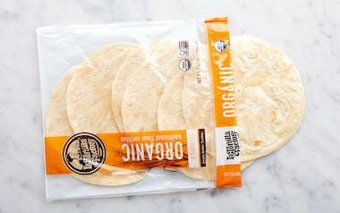 Organic Traditional Flour Tortillas