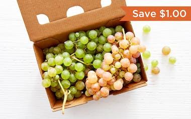 Organic Seedless Bronx Grapes