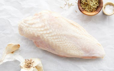 Organic Bone-In Skin-On Chicken Breasts