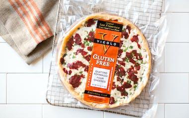 Gluten-Free Quattro Formaggi Pizza