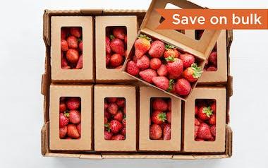 Flat of Organic Strawberries