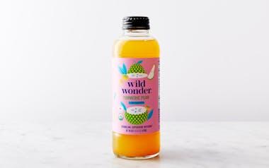 Organic Turmeric Pear Sparkling Tea Tonic