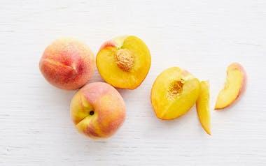 Organic Rich Lady Yellow Peaches