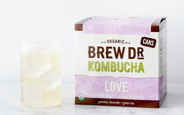 Organic Jasmine & Lavender Green Tea Kombucha