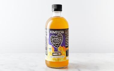 Organic Ginger Fire Kombucha
