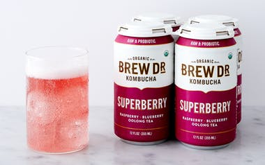 Organic Superberry Kombucha