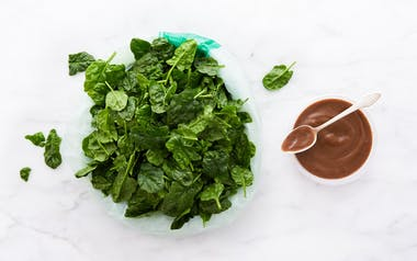 Pre-Washed Baby Spinach with Balsamic Vinaigrette