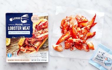Maine Lobster Meat with Luke's Secret Seasoning (Frozen)