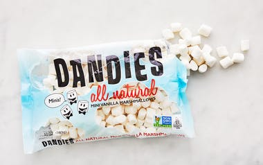 Vegan Vanilla Mini Marshmallows