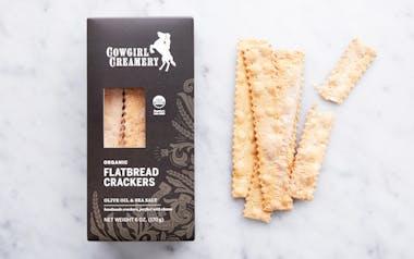 Sea Salt & Olive Oil Crackers