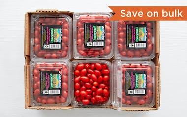 Case of Organic & Fair Trade Sugar Plum Tomatoes (Mexico)