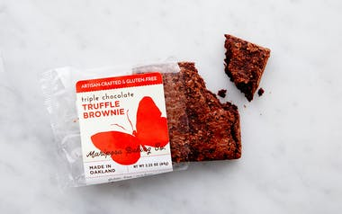 Wheat-Free Triple Chocolate Brownie