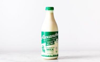 100% Grass Fed A2/A2 Regenerative Organic Milk
