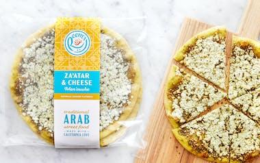 Par-Baked Za'atar and Cheese Man'oushe (Flatbread)