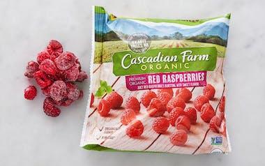 Organic Frozen Raspberries