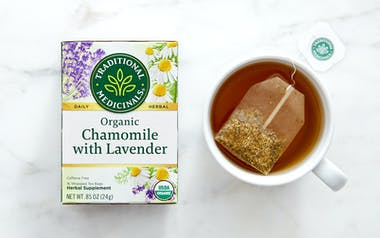 Organic Chamomile with Lavender Tea Bags