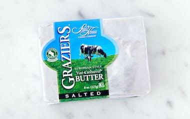 Graziers Salted Grass-Fed Butter