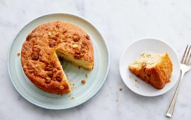 Wheat-Free Sour Cream Coffeecake