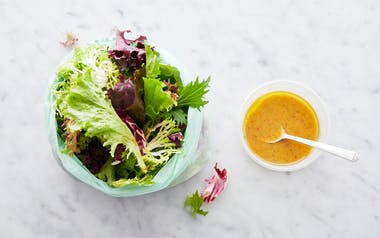 Pre-Washed Salad Greens with Red Wine Vinaigrette