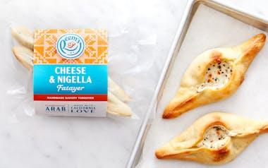 Par-Baked Cheese & Nigella Fatayer (Turnovers)