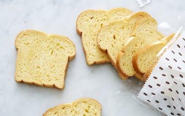 Sliced Brioche Loaf