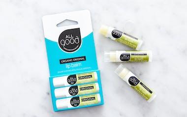Organic Lip Balm Original 3pk