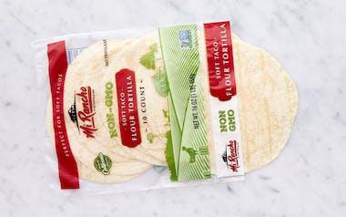 Non GMO Soft Taco Flour Tortillas
