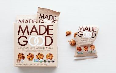 Organic Chocolate Chip Granola Minis
