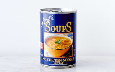 No-Chicken Noodle Soup