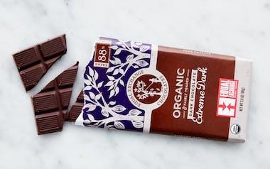 Organic 88% Extreme Dark Chocolate Bar