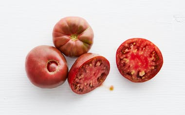 Organic Purple Cherokee Heirloom Tomatoes