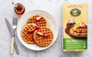 Organic Gluten-Free Chia Plus Waffles