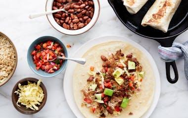 Carnitas Super Burritos with Avocado & Cheese