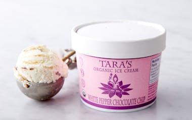 Organic White Pepper Chocolate Chip Ice Cream
