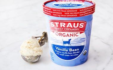 Organic Vanilla Bean Ice Cream